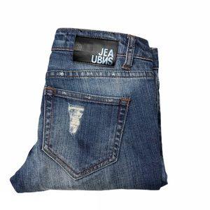 Urban Behavior Melrose Destroyed Skinny Jeans